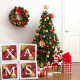 Christmas Transparent Box Xmas Gifts Box Merry Christmas Decorations For Home 2020 Cristmas Ornament Navidad Noel Happy New Year