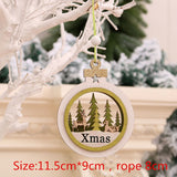 Christmas Wooden Table Ornament Merry Christmas Decoration for Home Christmas Tree Decor 2020 Xmas Navidad Gifts New Year 2021