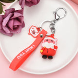 Christmas Keychain Christmas Decorations for Home Xmas Gifts Christmas Decoration Noel New Year 2021 Kerst Natal Navidad 2020