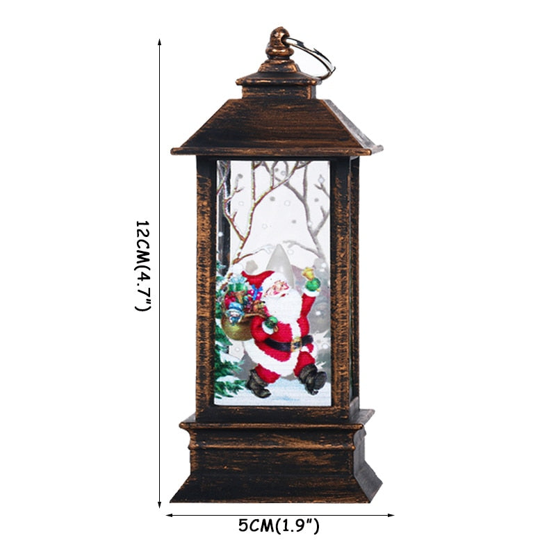1set Christmas DIY Table Wooden Ornament Snowman Church 2020 New Year Christmas Decorations for Home Navidad Noel Xmas Supplies