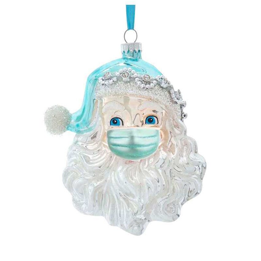 2020 DIY Quarantine Christmas Decorate Santa Claus