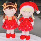 Gloveleya Plush Dolls 2020 Christmas Dolls Baby PlushToys Limited Edition Christmas GIfts Cloth Dolls for Baby Girls