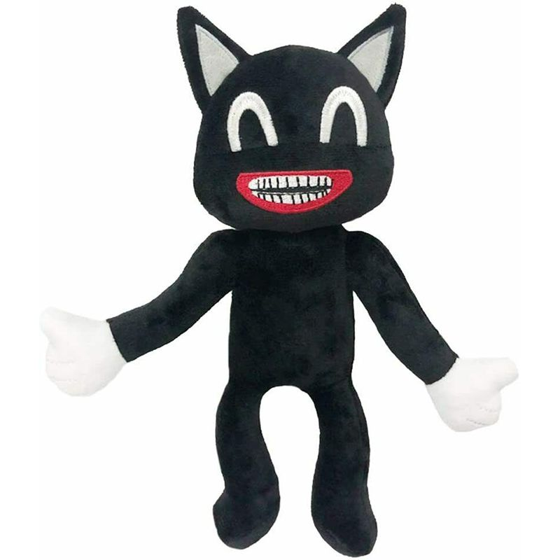 2pcs/set Anime Siren Head Plush Toy Legends Of Horror Black Cat Stuffed Doll Juguetes Sirenhead Peluches Toys for Children Gifts