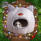 New Deep sleep comfort in winter cat bed