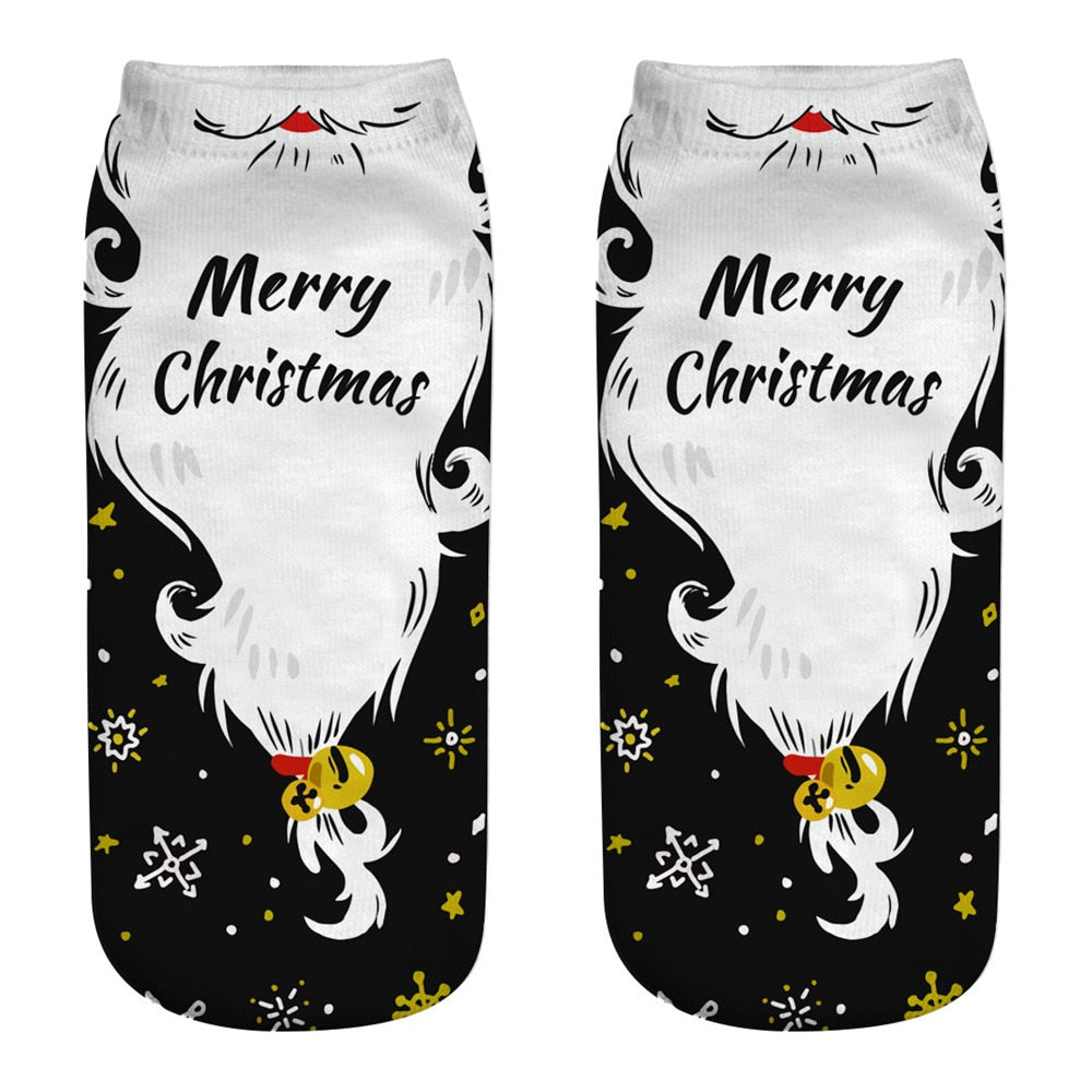 Cotton Christmas Socks Christmas Decorations for Home Xmas Gifts Cristmas Decoration Noel New Year Kerst Natal Navidad 2020
