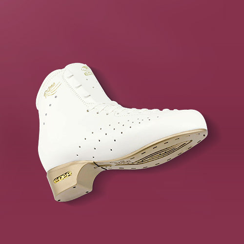 Edea Ritmo Roller Boot with Off-Ice blade Attached - Ivory