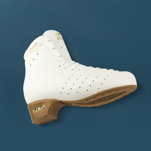 Edea RONDO Roller Boot with Off-Ice blade Attached - Ivory