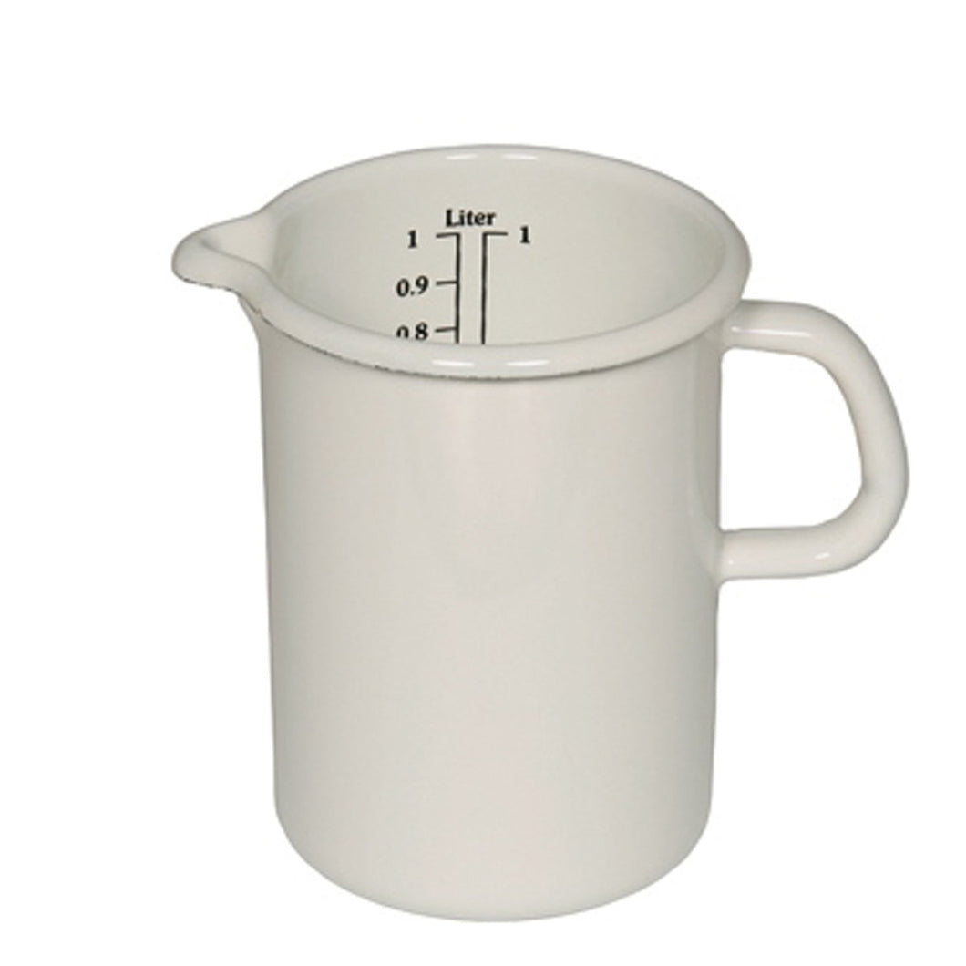 Riess | Measuring Jug with handle White 2.0L