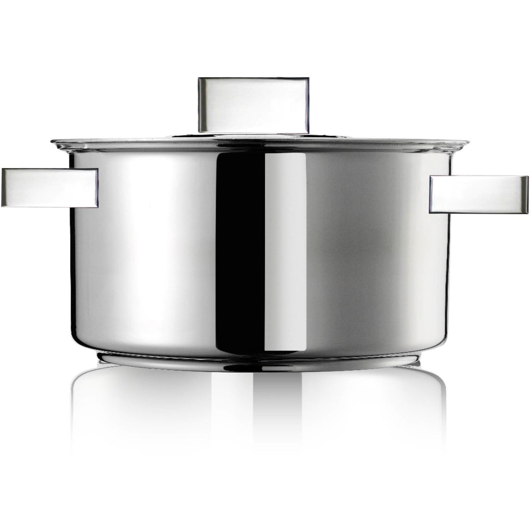 Inoxriv | Casserole with lid 24cm 5L