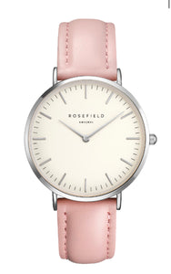 Orologio The Bowery Bianco - Rosa