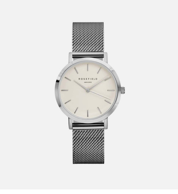 Orologio Rosefield - The tribeca Silver 28mm