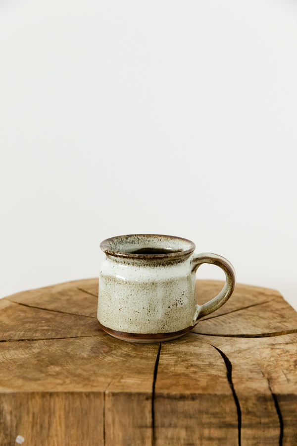 White Chocolate Hand Made Ceramic Mug