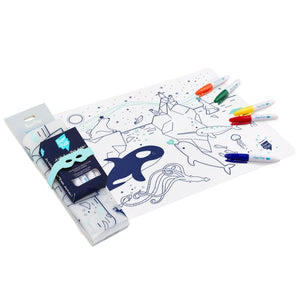 Set De Table À Colorier À L'infini