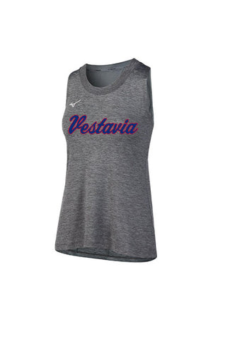 Mizuno Women's Vestavia Gray Tank Top