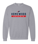 Homewood Patriots Adult Crew Neck Sweatshirt