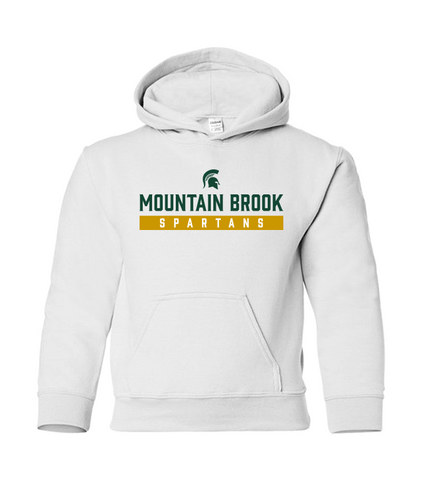 Mountain Brook Spartans Youth Hooded Sweatshirt
