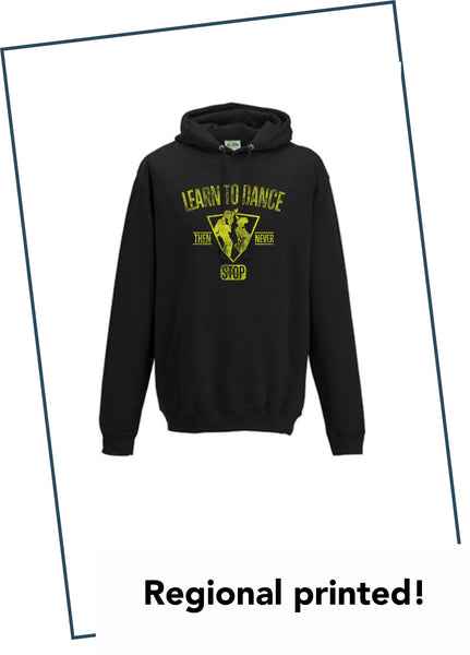 "HOODIE ""LEARN TO DANCE"""