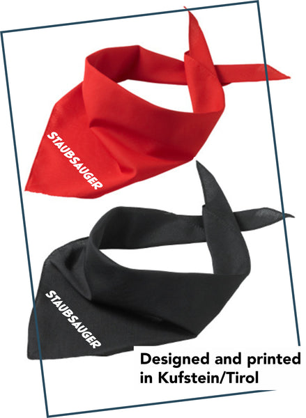 "Dog bandana ""vacuum cleaner"""