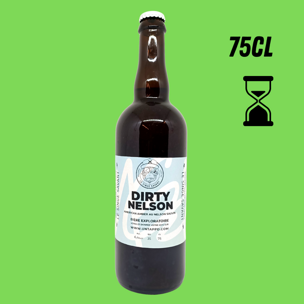 SINGE SAVANT DIRTY NELSON 6,4° 75CL