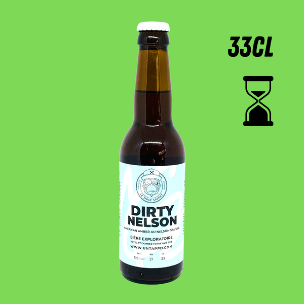 SINGE SAVANT DIRTY NELSON 6,4° 33CL