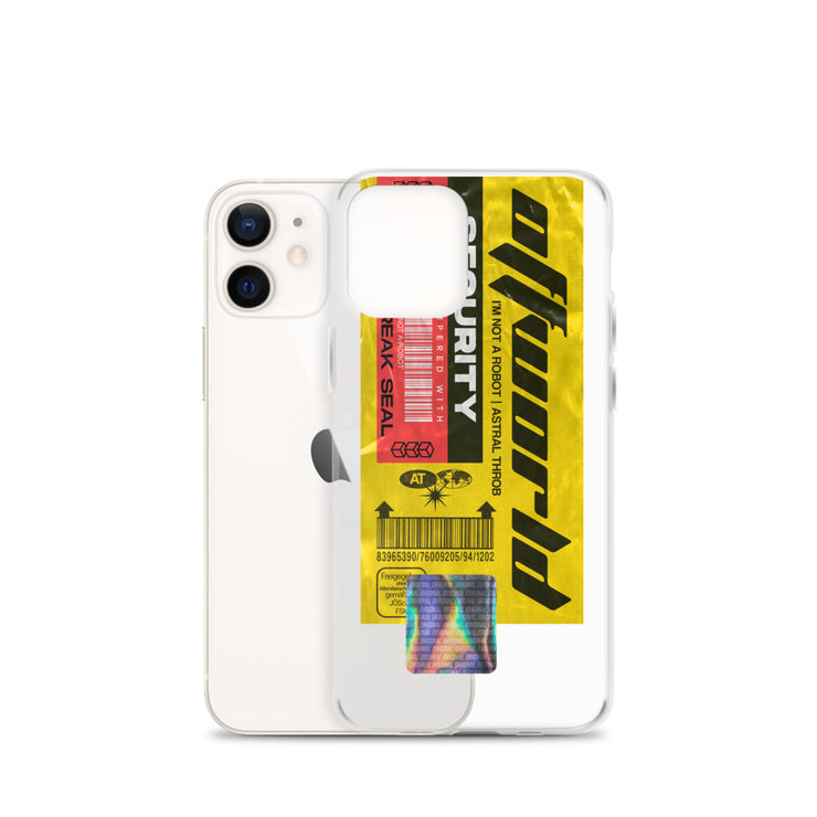 CYBER TAG - THREE iPhone Case