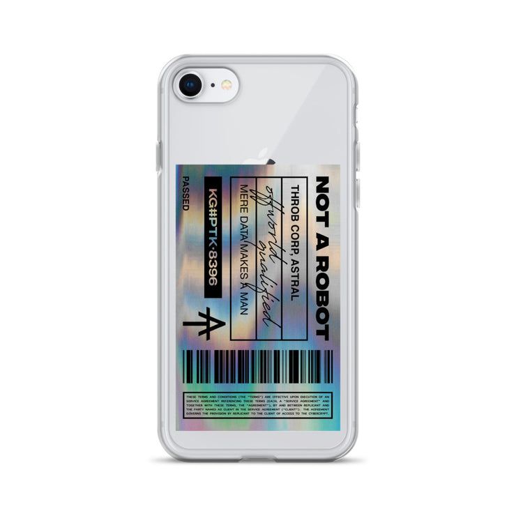 Holofoil iPhone Case