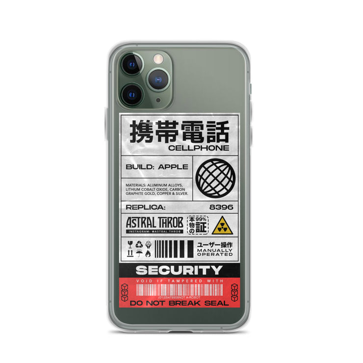 Cyber Sticker iPhone Case