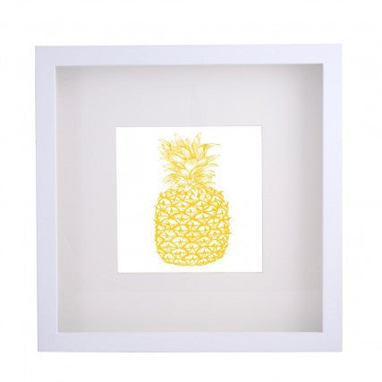 Framed Artwork - Pineapple