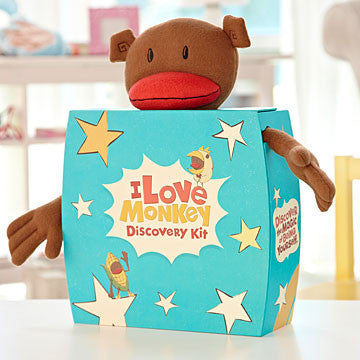 I Love Monkey Discovery Kit