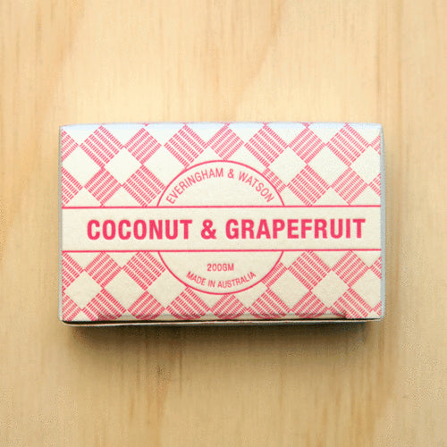 Everingham & Watson Coconut & Grapefruit Soap