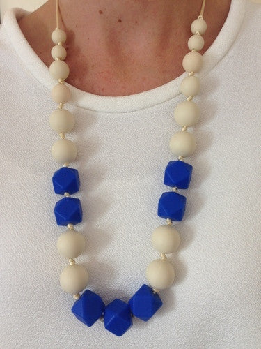 Bambino Bling Tilly Necklace Royal Blue