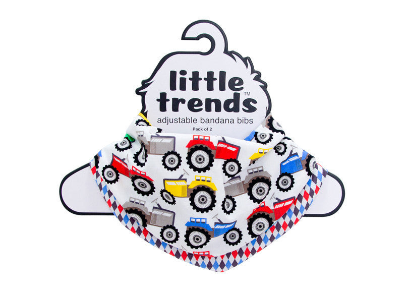 Little Trends Bandana Bib Tractor