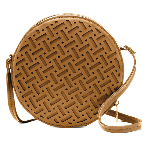 Pixie Round Bag Tan