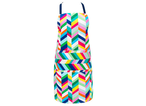 Apron Geo Pop Herringbone