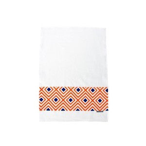 Geo Pop Diamond Linen Tea Towel