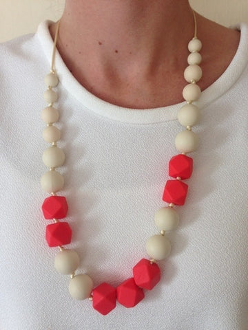 Bambino Bling Tilly Necklace Coral