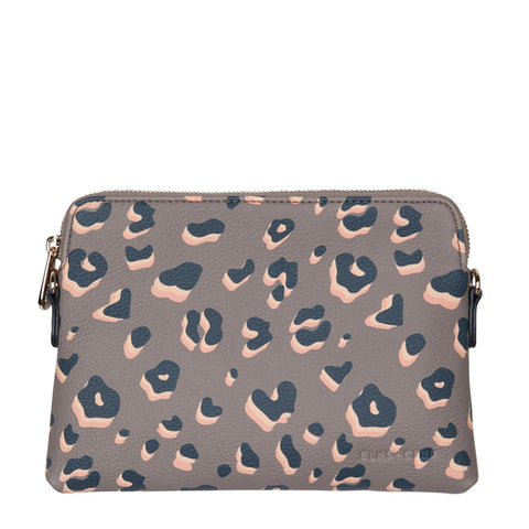 Bowery Wallet Navy Animal