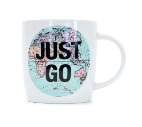 Just Go Coffee Mug