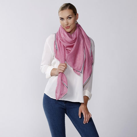 Bianca Scarf Red