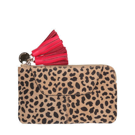 Isabelle Coin Purse Spot Suede