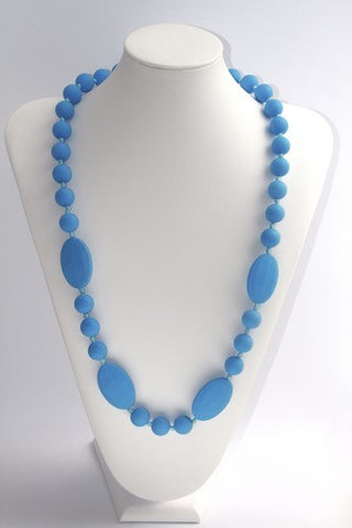 Bambino Bling Teething Necklace Blue