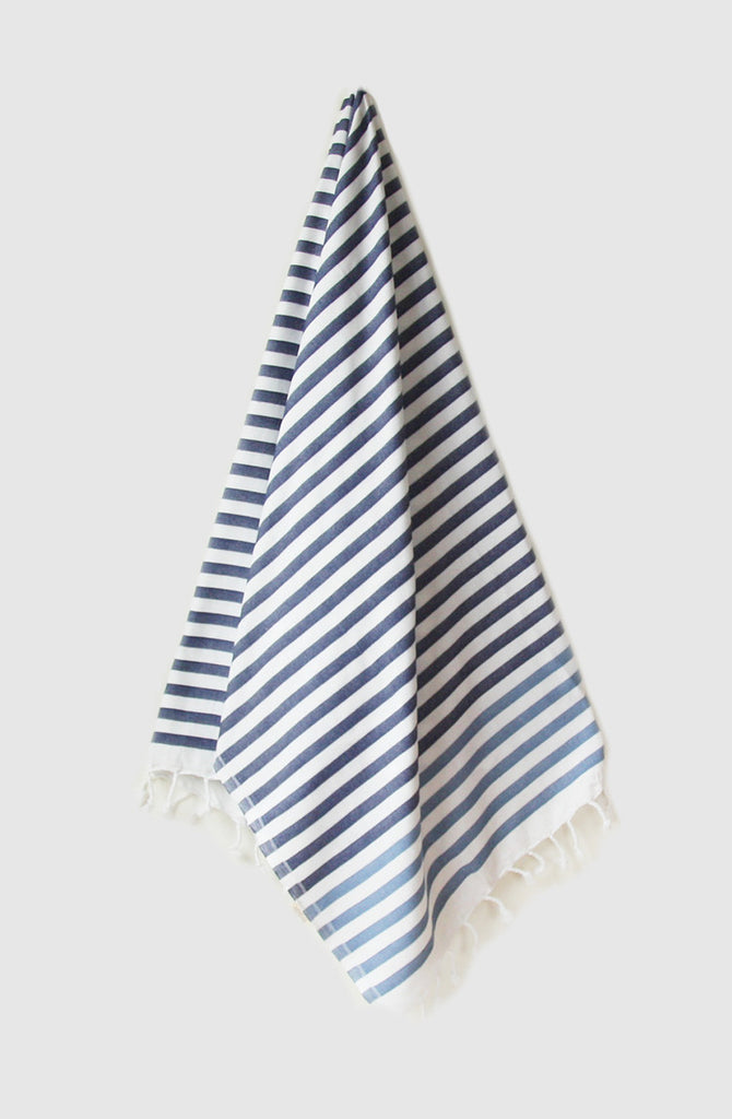 Atolyia Turkish Towel Indigo & Storm