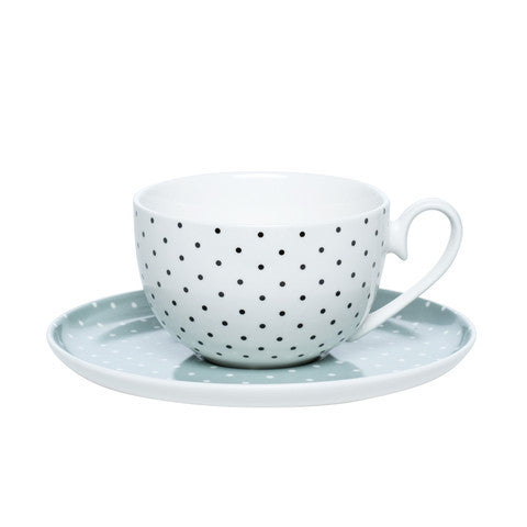 Clover Dot Teacup