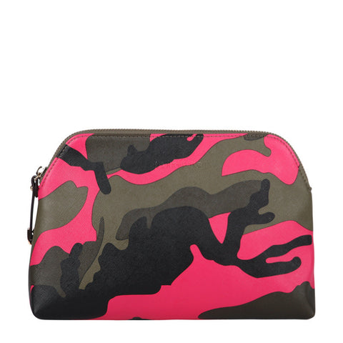Pink Camo XL Cosmetic Bag