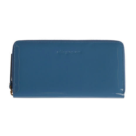 Arlington Milne Large Wallet Blue Patent