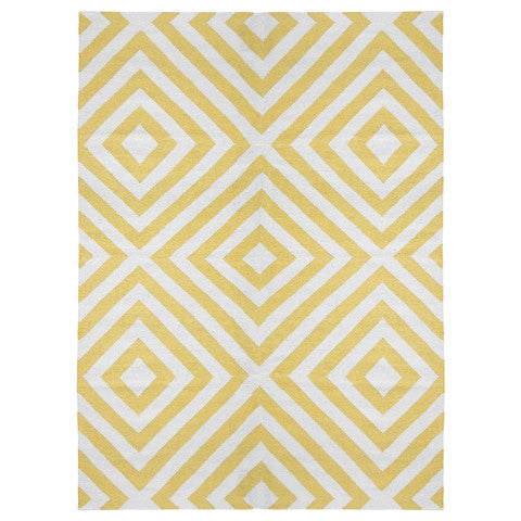 Aztec Rug Yellow