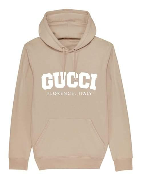 'GG COLLEGE' Womens Hoodie Out The Purse UK
