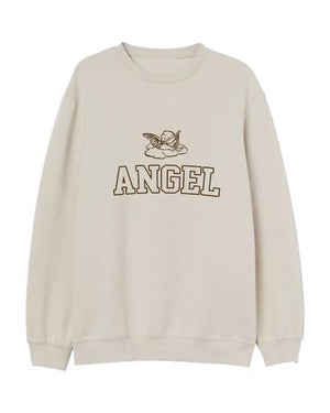 Angel Women's Embroidered Sweater Sweater Out The Purse UK
