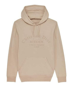 'Atelier' Embroidered Women's Hoodie Out The Purse UK