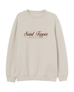 Saint Tropez Women's Sweater Sand Sweater Out The Purse UK